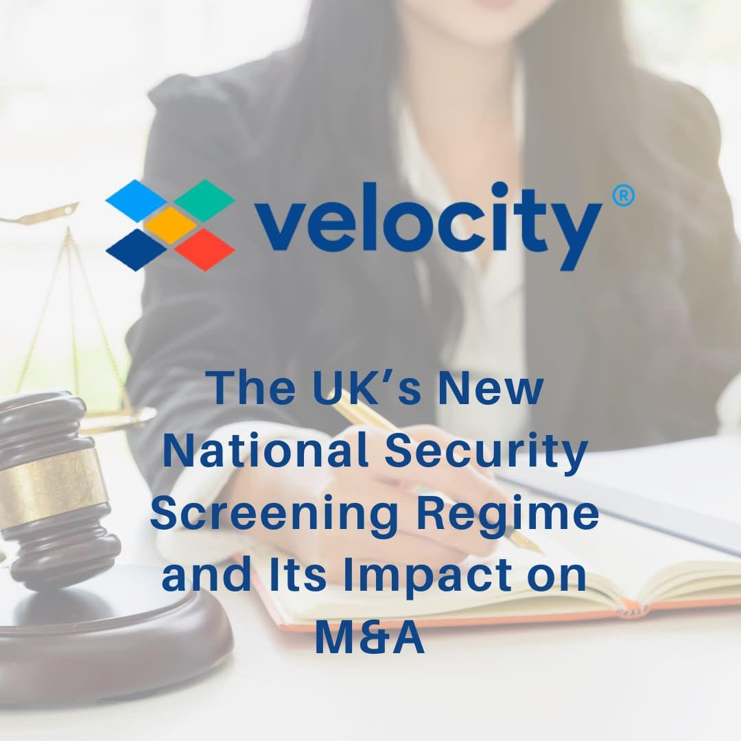 UK's new national security screening regime