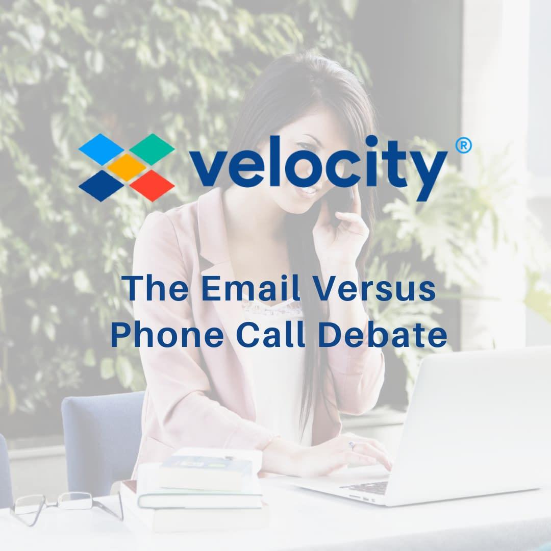 The Email Versus Phone Call Debate
