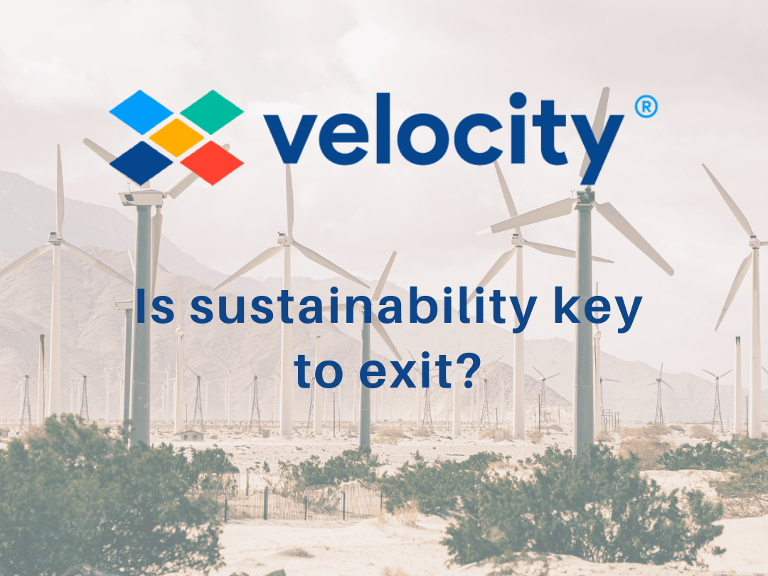 Is sustainability key to exit?